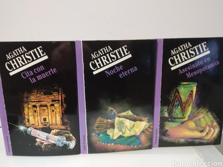 Libros de segunda mano: Agatha Christie. Lote de 12 libros. Círculo de lectores. - Foto 4 - 233775640