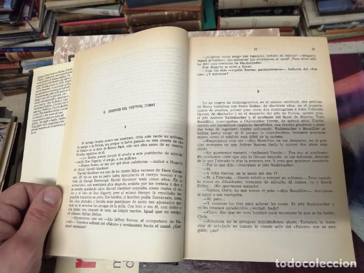 Libros de segunda mano: STEPHEN KING . IT ( ESO ). PLAZA & JANÉS . 1988. ILUSTRACIÓN PORTADA BOB GIUSTI. TAPA DURA - Foto 3 - 234468335