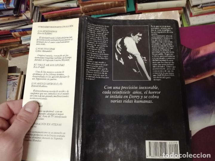 Libros de segunda mano: STEPHEN KING . IT ( ESO ). PLAZA & JANÉS . 1988. ILUSTRACIÓN PORTADA BOB GIUSTI. TAPA DURA - Foto 9 - 234468335