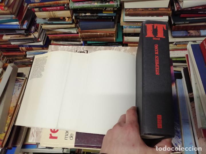 Libros de segunda mano: STEPHEN KING . IT ( ESO ). PLAZA & JANÉS . 1988. ILUSTRACIÓN PORTADA BOB GIUSTI. TAPA DURA - Foto 10 - 234468335