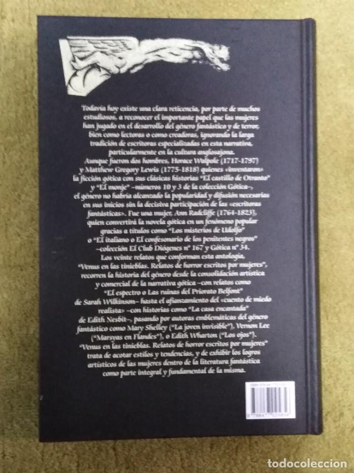 Libros de segunda mano: Venus en las tinieblas. Relatos de horror escritos por mujeres (VALDEMAR GOTICA 68) - TAPA DURA - Foto 2 - 234537900
