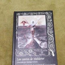 Libros de segunda mano: LOS CANTOS DE MALDOROR - CONDE DE LAUTRÉAMONT (VALDEMAR GOTICA 100) - TAPA DURA. Lote 234574320