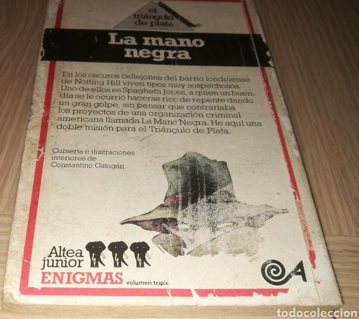 Libros de segunda mano: LA MANO NEGRA - EDGAR WALLACE - Foto 2 - 234986180
