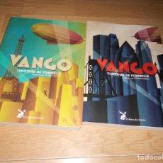 Libros de segunda mano: 2 VANGO. ENTRE EL CIELO Y LA TIERRA. UN PRINCIPE SIN REINO, VOL. II. TIMOTHEE DE FOMBELLE. + LIBROS. Lote 235026480