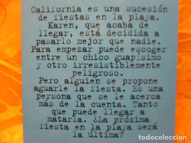 Libros de segunda mano: LOS THRILLERS DE R.L. STINE - EL TERROR CONTINUA - FIESTA EN LA PLAYA Nº 10 - Foto 8 - 235215875