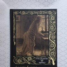 Libros de segunda mano: LA PATA DE MONO Y OTROS CUENTOS MACABROS -W.W. JACOBS - VALDEMAR GÓTICA - PRIMERA EDICIÓN - SIN USO. Lote 235872090