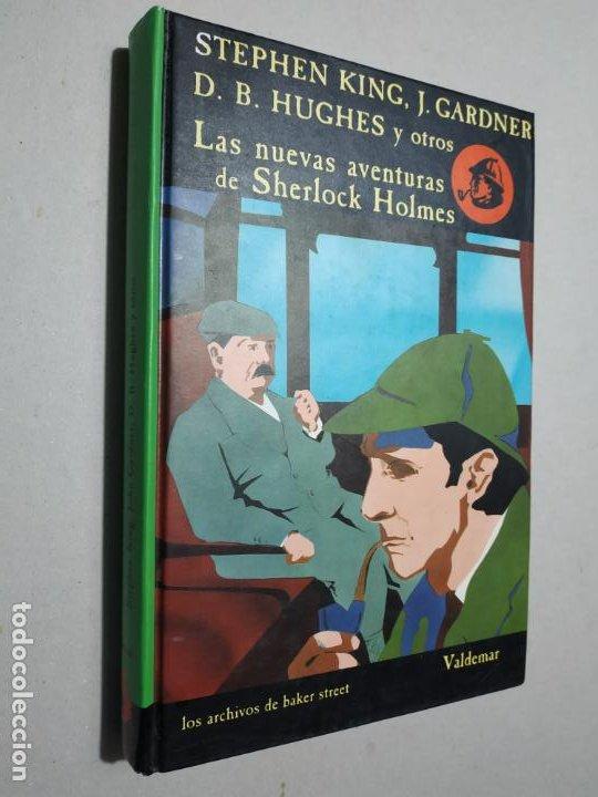 LAS NUEVAS AVENTURAS DE SHERLOCK HOLMES. LOS ARCHIVOS DE BAKER STREET. VALDEMAR. Nº 7. 1992. (Libros de segunda mano (posteriores a 1936) - Literatura - Narrativa - Terror, Misterio y Policíaco)