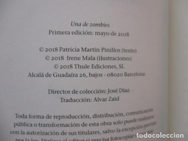 Libros de segunda mano: Una de zombis - de Patricia Martín Pinillos - COMO NUEVO - Foto 5 - 236849200
