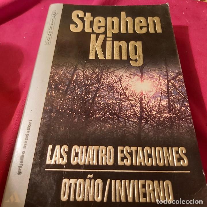 STEPHEN KING. LAS CUATRO ESTACIONES, OTOÑO / INVIERNO. GRIJALBO MONDADORI. (Libros de segunda mano (posteriores a 1936) - Literatura - Narrativa - Terror, Misterio y Policíaco)