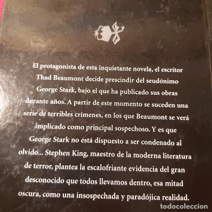 Libros de segunda mano: Stephen king. La mitad oscura. RBA. - Foto 2 - 237004305