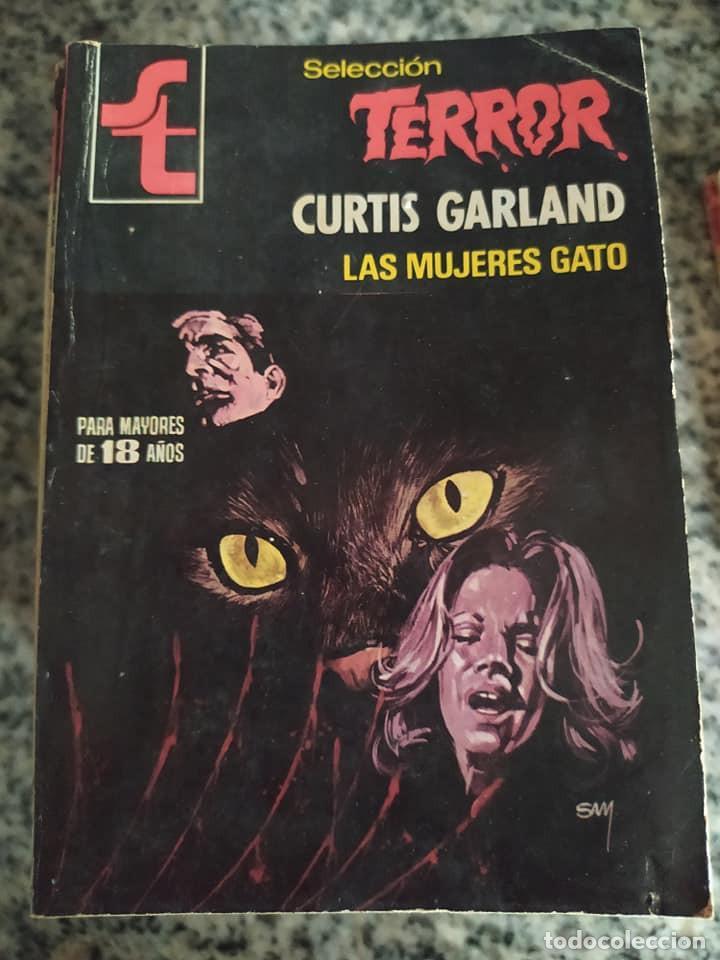 """NOVELAS SELECCION TERROR NÚMERO 375 """"LAS MUJERES GATO"""" CURTIS GARLAND (Libros de segunda mano (posteriores a 1936) - Literatura - Narrativa - Terror, Misterio y Policíaco)"""