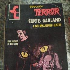 "Libros de segunda mano: NOVELAS SELECCION TERROR NÚMERO 375 ""LAS MUJERES GATO"" CURTIS GARLAND. Lote 237487915"