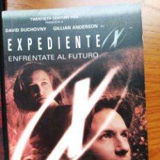 Libros de segunda mano: EXPEDIENTE X. ENFRÉNTATE AL FUTURO. CHRIS CARTER. EVEREST 1998. Lote 238058790