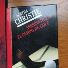 Libros de segunda mano: AGATHA CHRISTIE. ASESINATO EN EL CAMPO DE GOLF. CIRCULO DE LECTORES 1990.. Lote 238139580