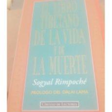 Libri di seconda mano: EL LIBRO TIBETANO DE LA VIDA Y LA MUERTE. Lote 239536095