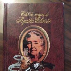 Libros de segunda mano: EL MISTERIO DE LA GUÍA DE FERROCARRILES, 1987 - CLUB DE AMIGOS DE AGATHA CHRISTIE (THE ABC MURDERS). Lote 239698960