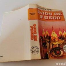 Libros de segunda mano: RARA 1ERA ED. 1982 OJOS DE FUEGO STEPHEN KING MUNDO ACTUAL EDICIONES. Lote 240213765