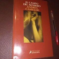 Libros de segunda mano: EL CAMPO DEL ALFARERO ANDREA CAMILLERI EDICIONES SALAMANDRA. Lote 240286170