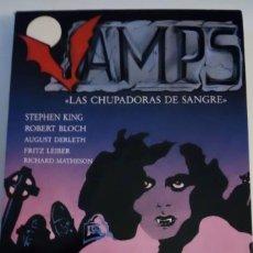 Libros de segunda mano: VAMPS, LAS CHUPADORAS DE SANGRE (ANTOLOGÍA, EDITORIAL VALDEMAR). Lote 242942315