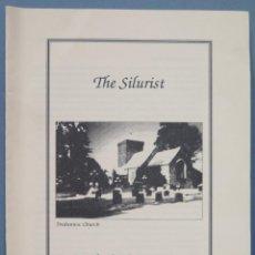 Libros de segunda mano: THE SILURIST. THE NEWSLETTER OF THE FRIENDS OF ARTHUR MACHEN. WINTER 1996. Lote 242988855