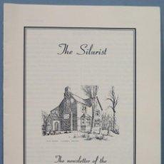Libros de segunda mano: THE SILURIST. THE NEWSLETTER OF THE FRIENDS OF ARTHUR MACHEN. Lote 242988905