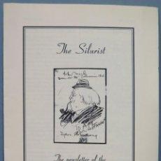 Libros de segunda mano: THE SILURIST. THE NEWSLETTER OF THE FRIENDS OF ARTHUR MACHEN. Lote 242988995