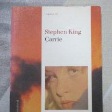 Libros de segunda mano: STEPHEN KING, CARRIE, EDICIONS DE LA MAGRANA, EDICIO EN CATALA LITERATURA DE TERROR. Lote 243623880