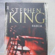 Libros de segunda mano: STEPHEN KING, RABIA, DE BOLSILLO, EDICION DE BOLSILLO IMPOSIBLE DE ENCONTRAR. OPORTUNIDAD UNICA. Lote 243624215