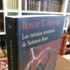 Libros de segunda mano: 2010 - ROBERT E. HOWARD - LAS EXTRAÑAS AVENTURAS DE SOLOMON KANE - VALDEMAR. Lote 243817740