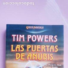 Libros de segunda mano: LIBRO-LA PUERTA DE ANUBIS-TIM POWERS-1988-BUEN ESTADO-COLECCIONISTAS. Lote 243911315