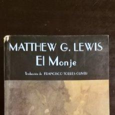 Libros de segunda mano: EL MONJE. LEWIS. VALDEMAR. Lote 244195825