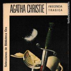 Libros de segunda mano: INOCENCIA TRAGICA - AGATHA CHRISTIE - EDITORIAL MOLINO. Lote 244201330