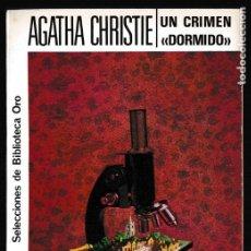 Libros de segunda mano: UN CRIMEN DORMIDO - AGATHA CHRISTIE - EDITORIAL MOLINO. Lote 244202035