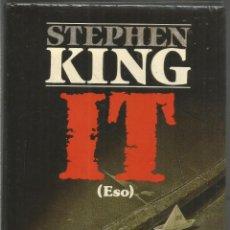 Libros de segunda mano: STEPHEN KING. IT. PLAZA & JANES. PRIMERA EDICION. Lote 244554355