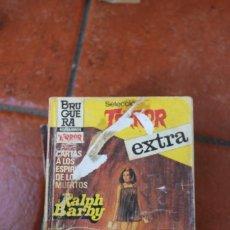 Libros de segunda mano: SELECCION TERROR EXTRA Nº 20: CARTA A LOS ESPIRITUS DE LOS MUERTOS RALPH BARBY. Lote 244919835