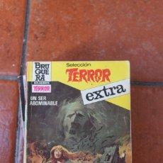 Libros de segunda mano: SELECCION TERROR EXTRA Nº 27 UN SER ABOMINABLE; LOU CARRIGAN. Lote 244920520
