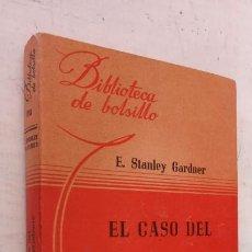 Libros de segunda mano: ERLE STANLEY GARDNER -EL CASO DEL GATITO IMPRUDENTE -BIBLIOTECA DE BOLSILLO Nº 108 LIBRERÍA HACHETTE. Lote 244942630