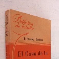 Libros de segunda mano: ERLE ESTANLEY GARDNER - EL CASO DE LA LATA VACÍA - BIBLIOTECA DE BOLSILLO Nº 114 - LIBRERÍA HACHETTE. Lote 244942880
