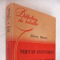 Libros de segunda mano: ELLERY QUEEN - NUEVAS AVENTURAS DE ELLERY QUEEN - BIBLIOTECA DE BOLSILLO Nº 110 LIBRERÍA HACHETTE. Lote 244944595