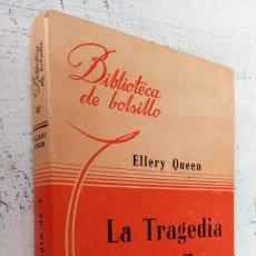 Libros de segunda mano: ELLERY QUEEN - LA TRAGEDIA DE Z - BIBLIOTECA DE BOLSILLO Nº 82 - 1944 LIBRERÍA HACHETTE. Lote 244946545