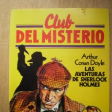 Libros de segunda mano: EL CLUB DEL MISTERIO Nº 2 LAS AVENTURAS DE SHERLOCK HOLMES BRUGERA. Lote 244989875