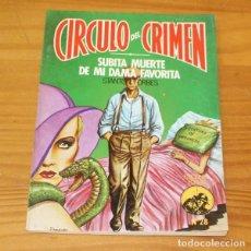 Libros de segunda mano: CIRCULO DEL CRIMEN 28 SUBITA MUERTE DE MI DAMA FAVORITA, STANTON FORBES. EDICIONES FORUM. Lote 245152180