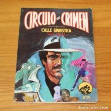 Libros de segunda mano: CIRCULO DEL CRIMEN 29 CALLE SINIESTRA, WADE MILLER. EDICIONES FORUM. Lote 245152220