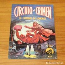 Libros de segunda mano: CIRCULO DEL CRIMEN 30 EL HOMBRE DE LONDRES, GEORGES SIMENON. EDICIONES FORUM. Lote 245152580