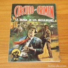Libros de segunda mano: CIRCULO DEL CRIMEN 34 LA BANDA DE LOS MUSULMANES, CHESTER HIMES. EDICIONES FORUM. Lote 245152690