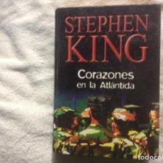 Libros de segunda mano: STEPHEN KING-------CORAZONES EN LA ATLÁNTIDA RBA TAPA DURA. Lote 245352350