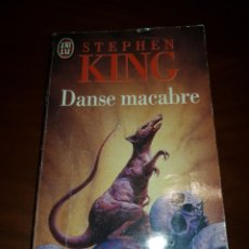 Libros de segunda mano: DANSE MACABRE (DANZA MACABRA) STEPHEN KING EN FRANCÉS. J'AI LU. 1980. Lote 245630435