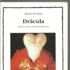 Libros de segunda mano: BRAM STOKER. DRACULA. CATEDRA. Lote 245642965