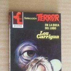 Libros de segunda mano: LOU CARRIGAN. SELECCION TERROR, Nº 465. BOLSILIBROS BRUGUERA. LITERACOMIC. Lote 245774690
