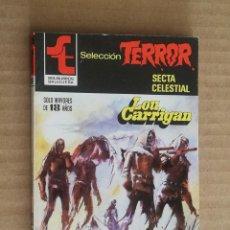 Libros de segunda mano: LOU CARRIGAN. SELECCION TERROR, Nº 484. BOLSILIBROS BRUGUERA. LITERACOMIC. Lote 245774875